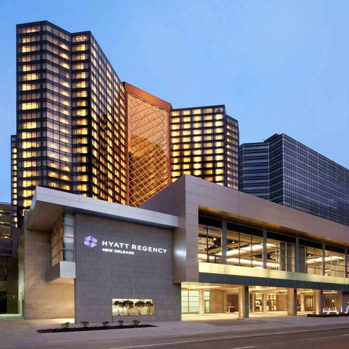Hyatt Regency New Orleans Tours