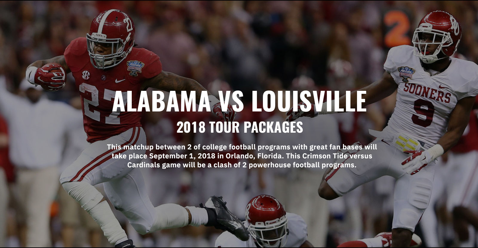 Alabama vs Louisville Game Travel