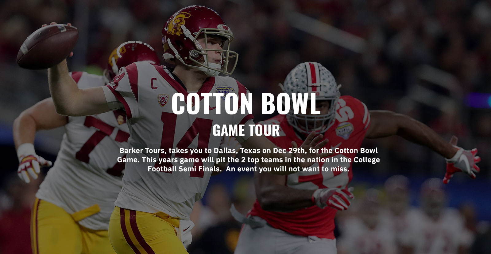 Cotton Bowl Tours