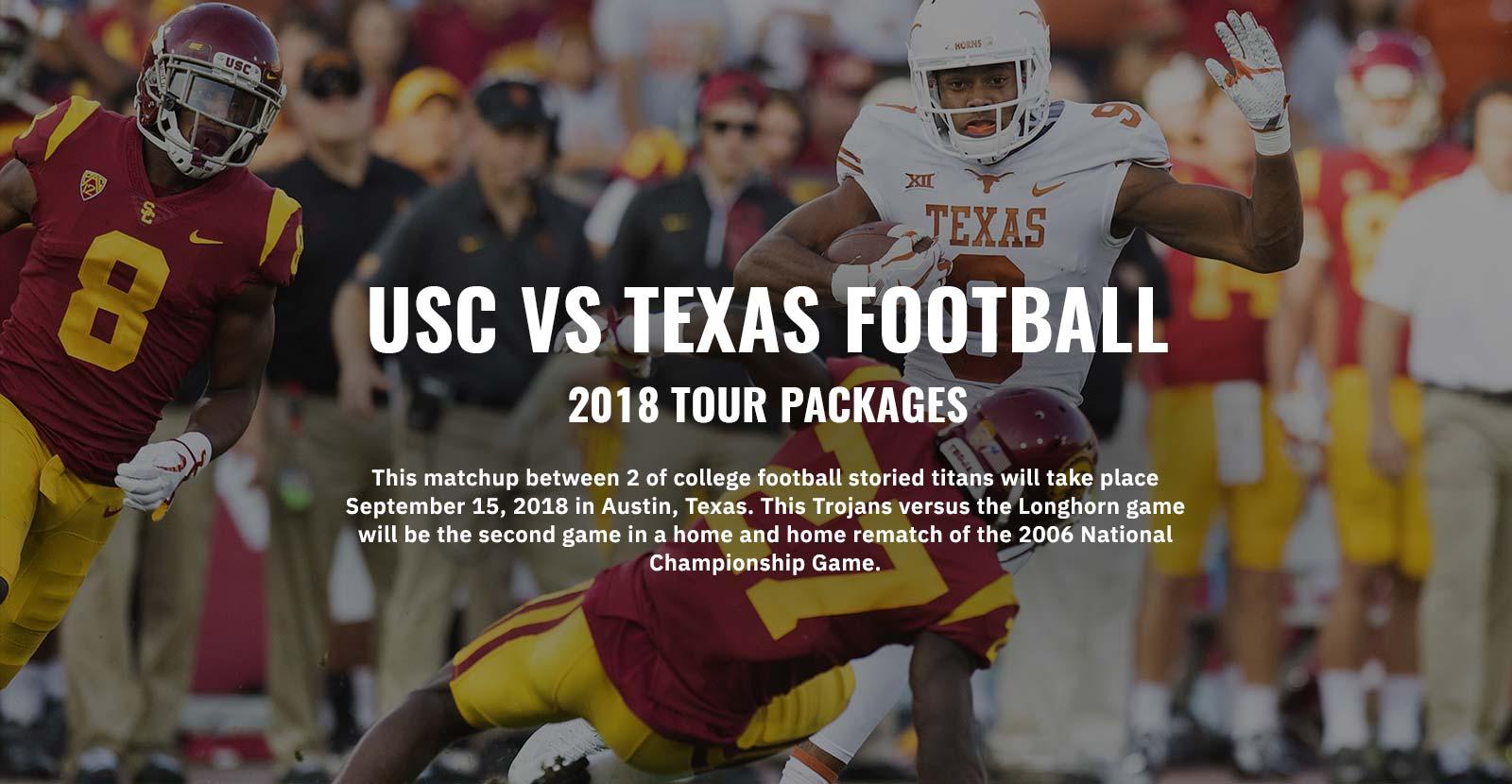 USC Football Tours Banner